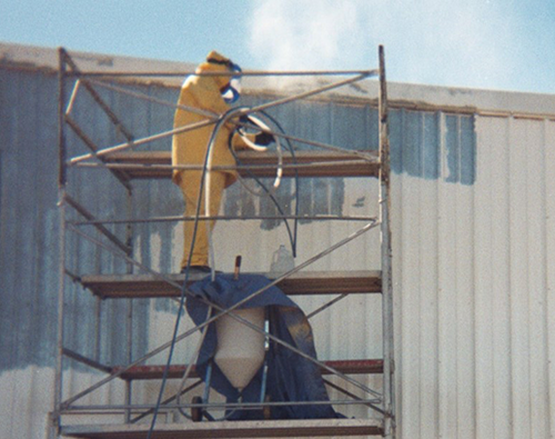 steel building maintenance and installation
